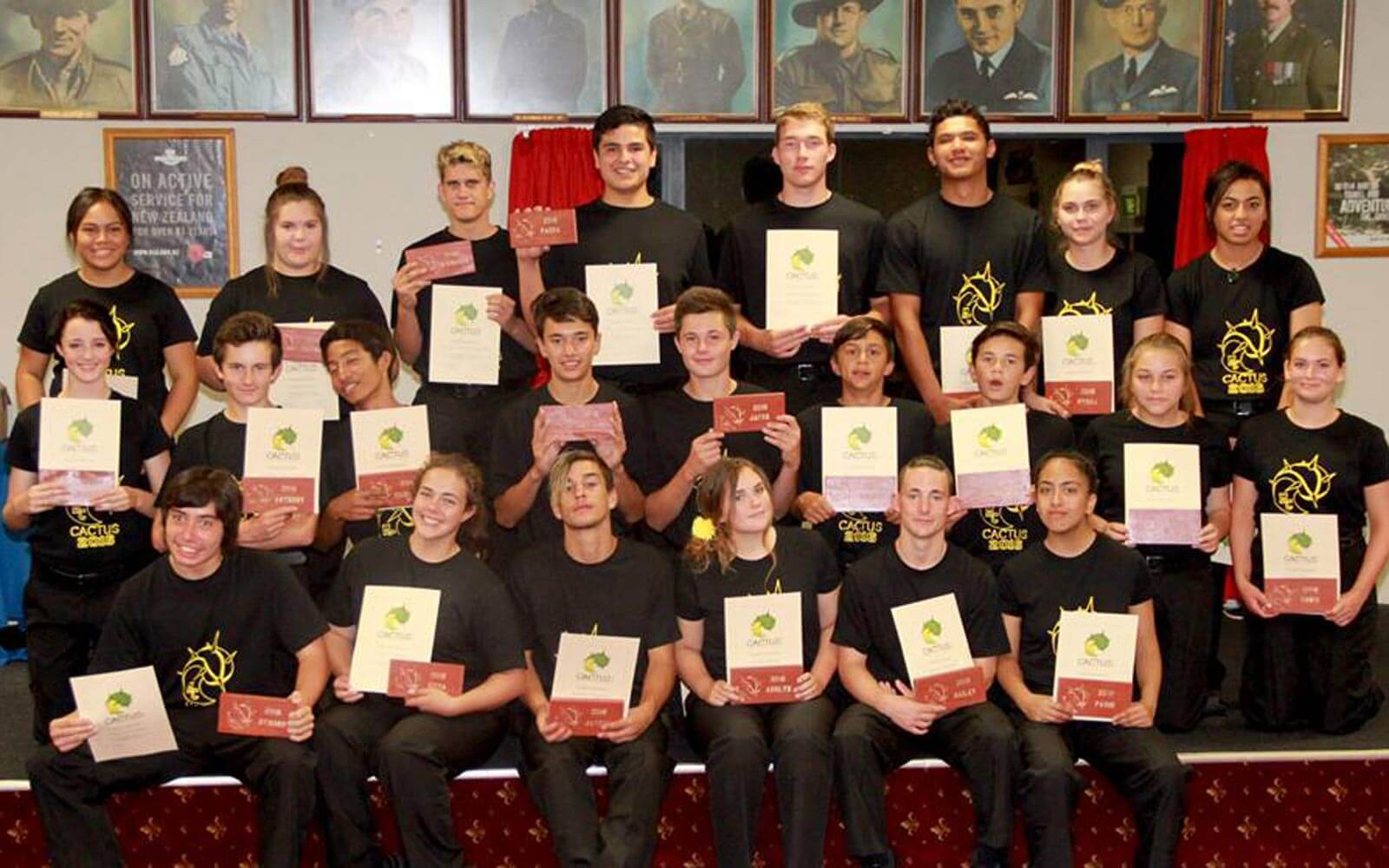 CACTUS-Graduation in Neuseeland