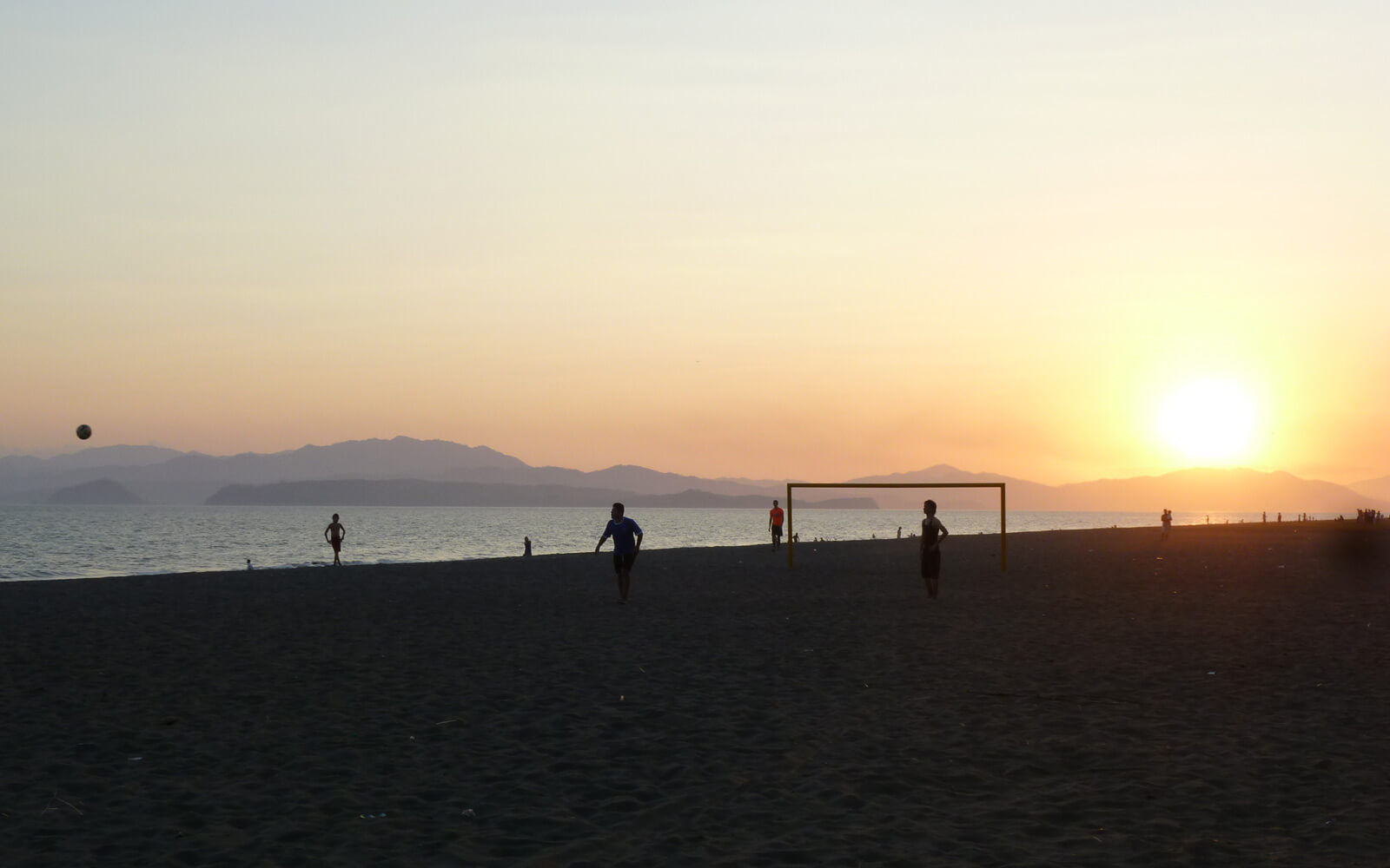 Sonnenuntergang am Strand, Costa Rica