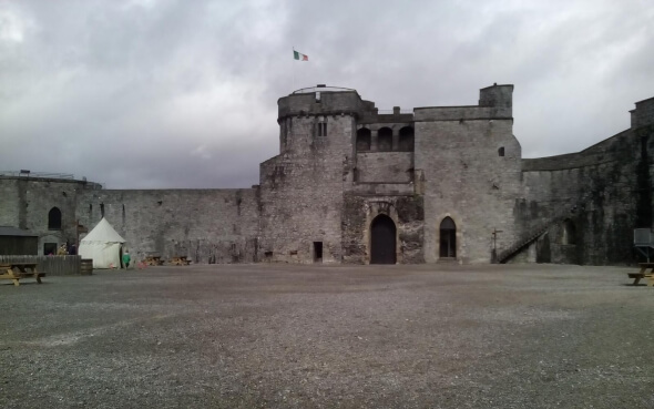 King John's Castle in Irland