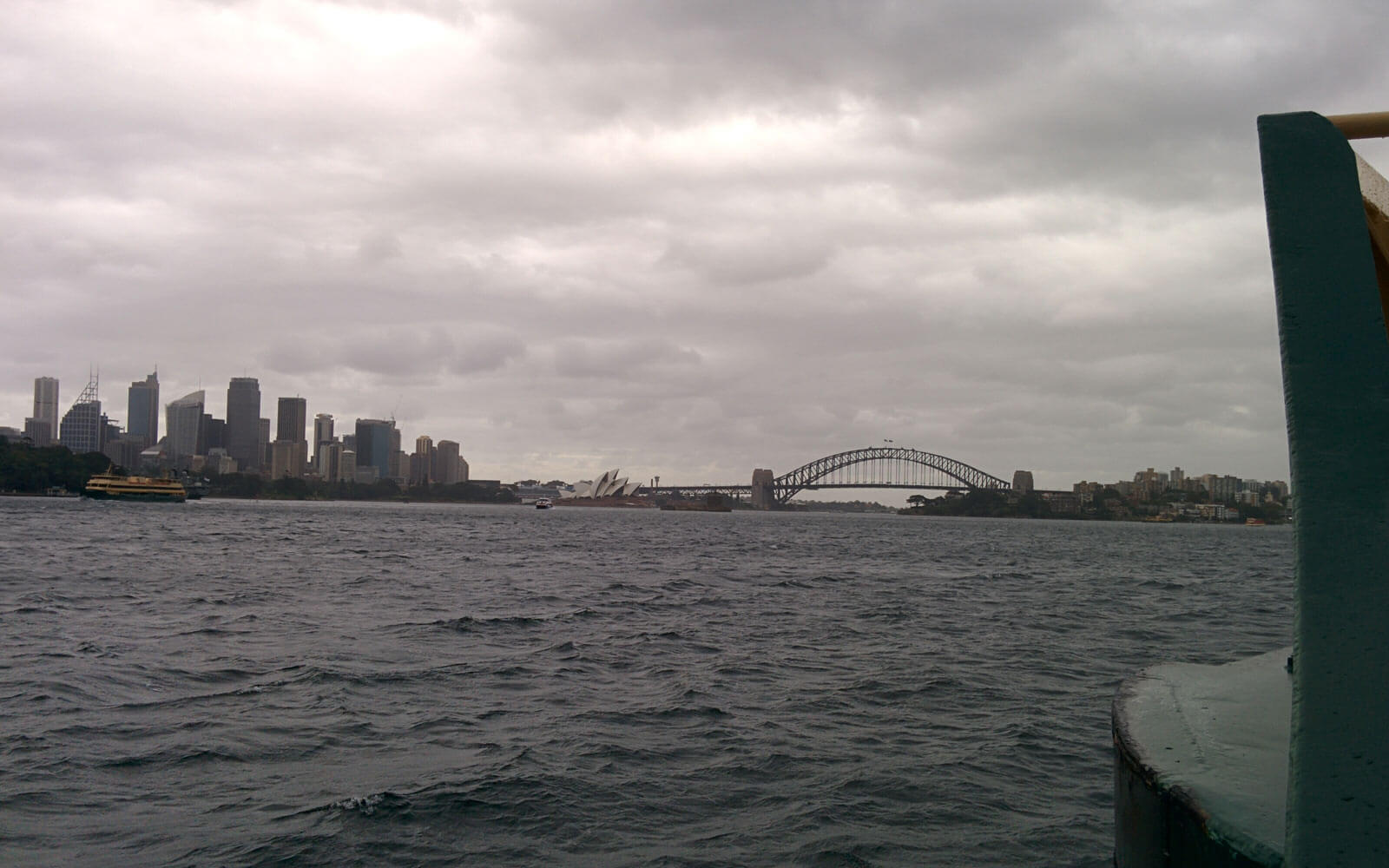 Sydney Skyline, Sydney Opera and Sydney Harbour Bridge