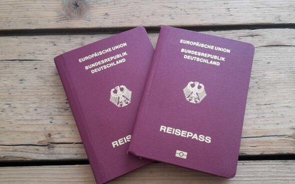 Deutsche Reisepässe