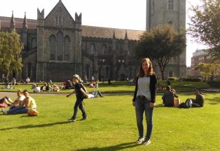 Maren in Irland #2: Ein toller Start in Dublin