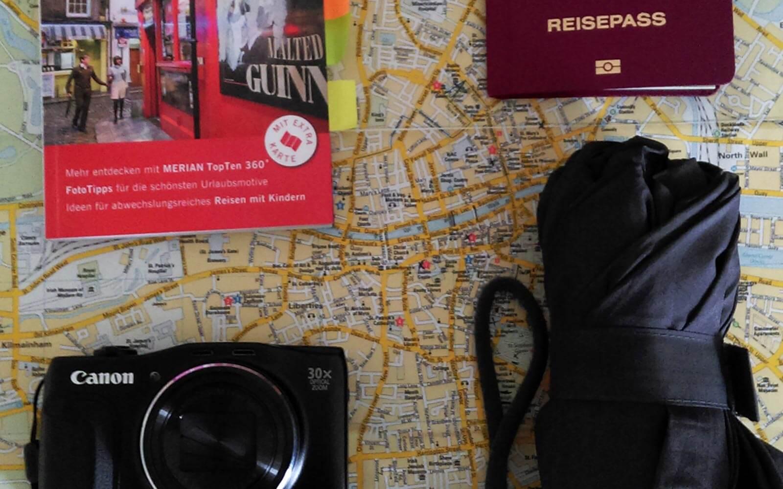 Vorbereitungen für Dublin-Reise