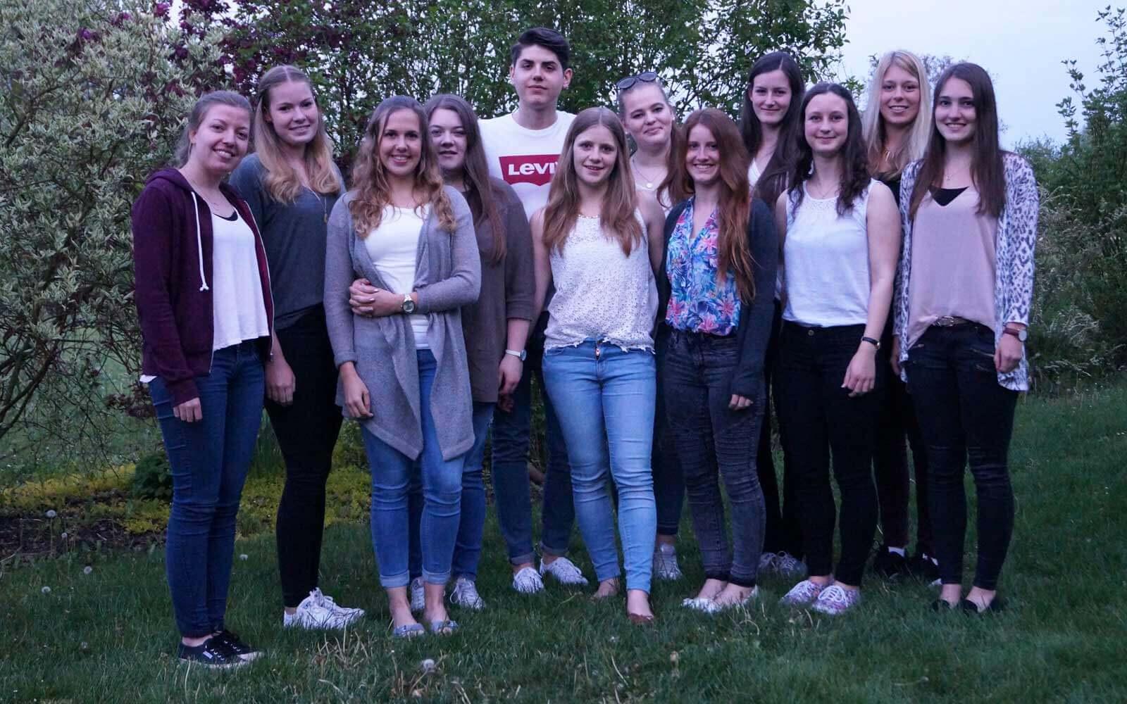 Lena und ihre Freunde