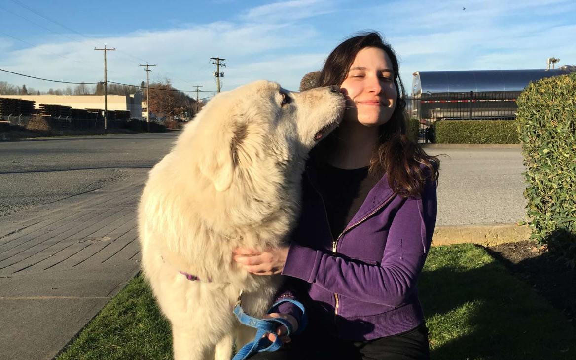 Freiwilligenarbeit in Kanada: Desiree im Vancouver Tierschutz-Projekt