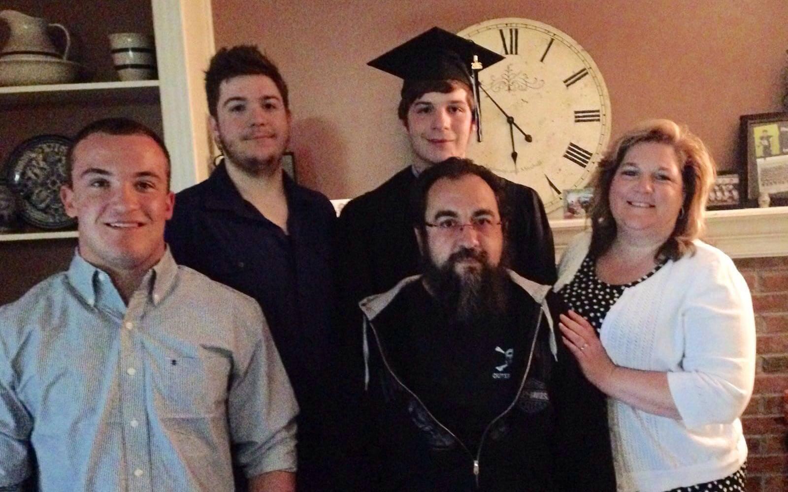 Daniel und seine Gastfamilie