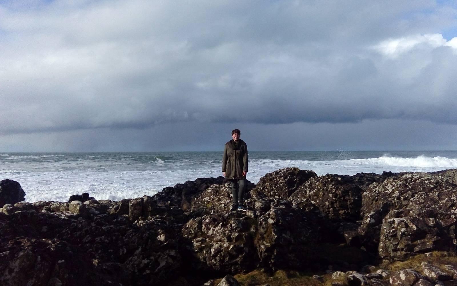 Ronja an Irlands Küste