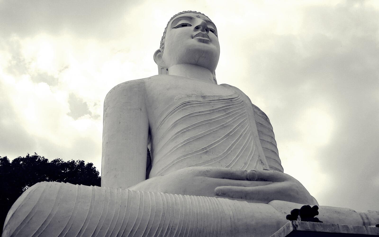 Buddhastatue in Kandy