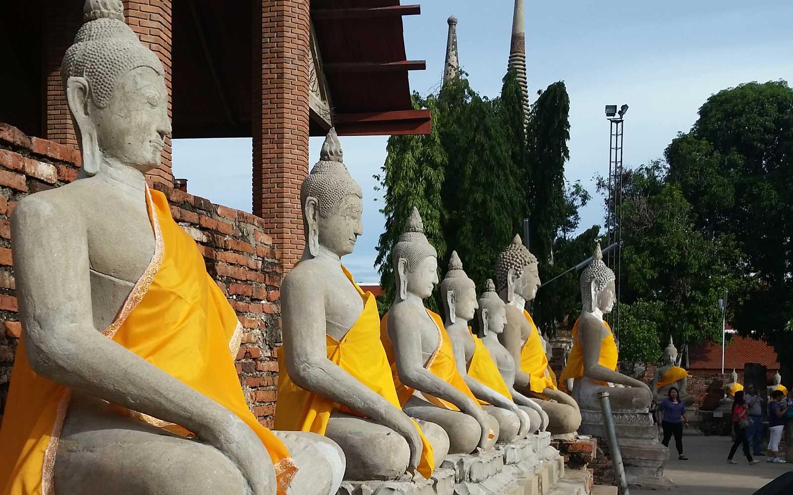 Buddhafiguren Thailand