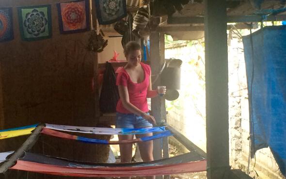 Kulturwoche Bali Batik-Kurs