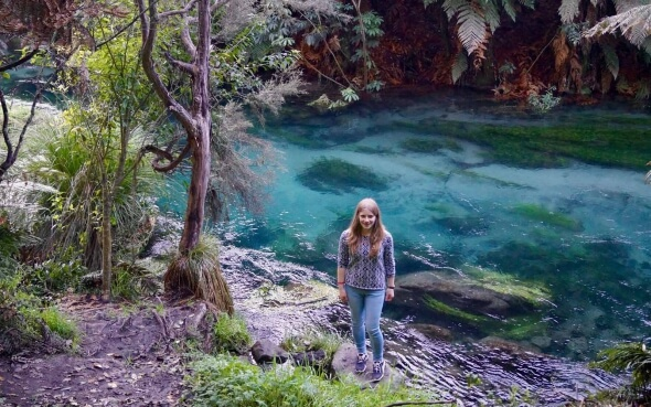 Lena an der Blue Spring