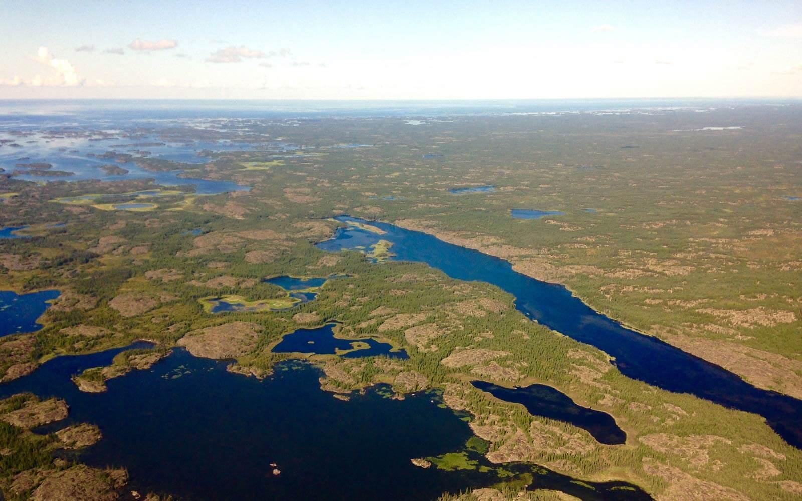 Seenlandschaft Kanada