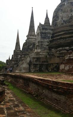 Wat Phra Si Sanphet-Tempel in Thailand