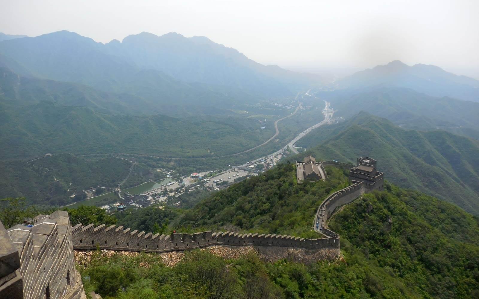Sehenswürdigkeit in China: Die Chinesische Mauer