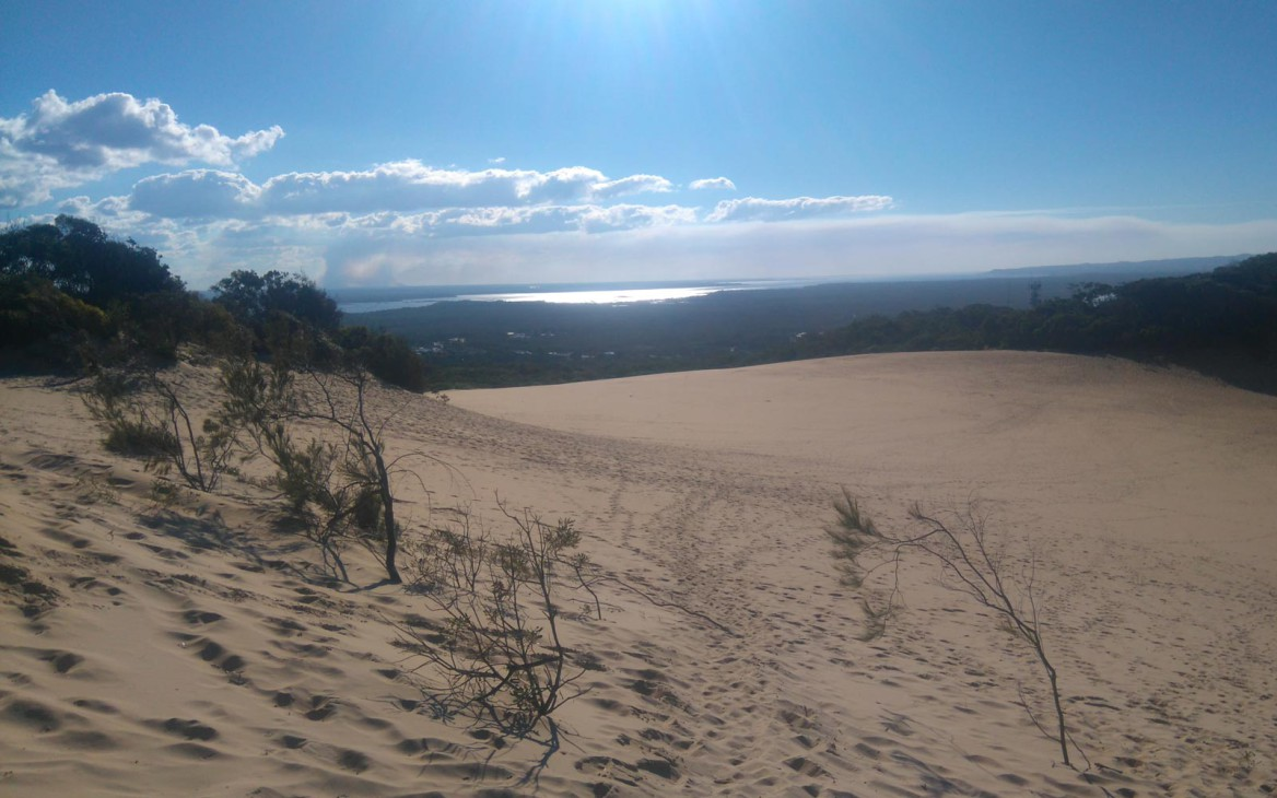 Justin in Australien #3: Cooloola Great Walk