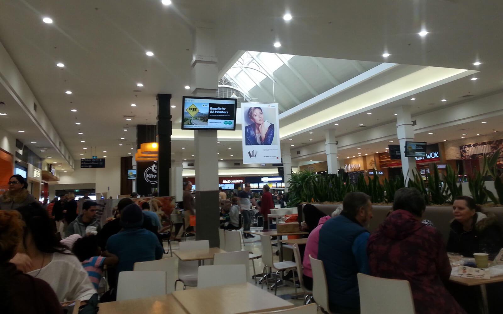 Einkaufszentrum Neuseeland