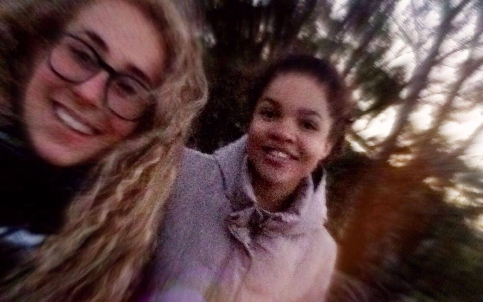 Fabienne und Cecilia