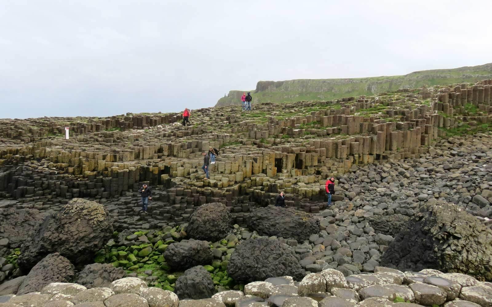 Eine weitere Hauptattraktion: Giant's Causeway Irland