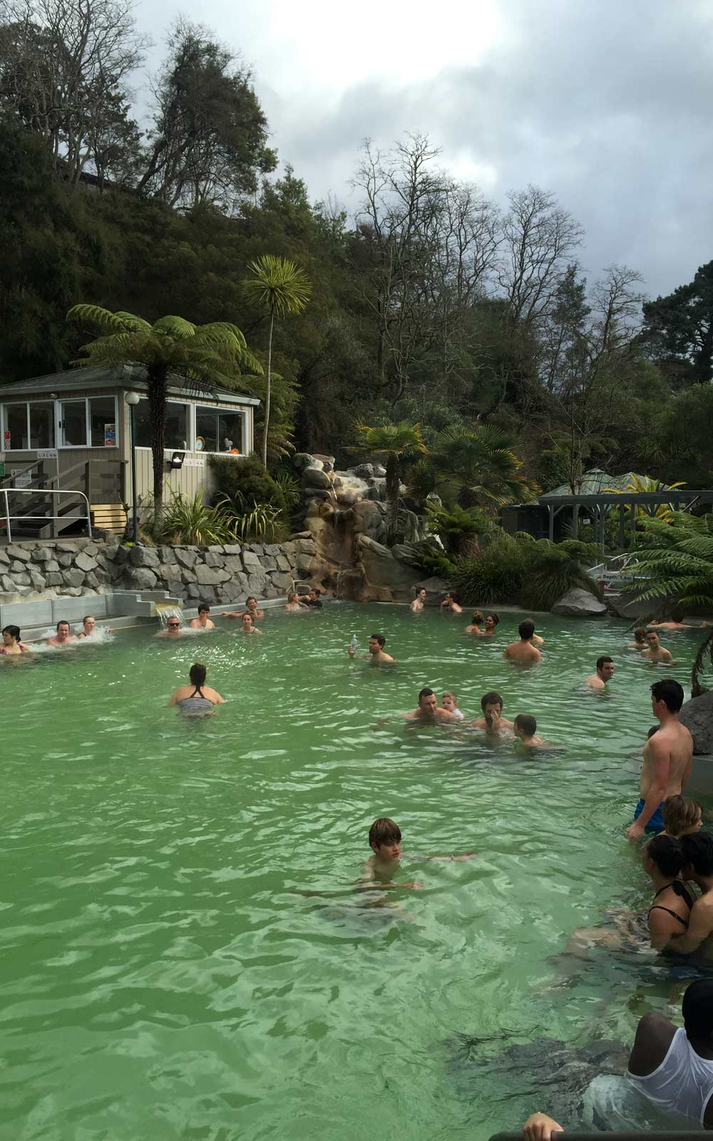 Hot Pools in Taupo, Neuseeland