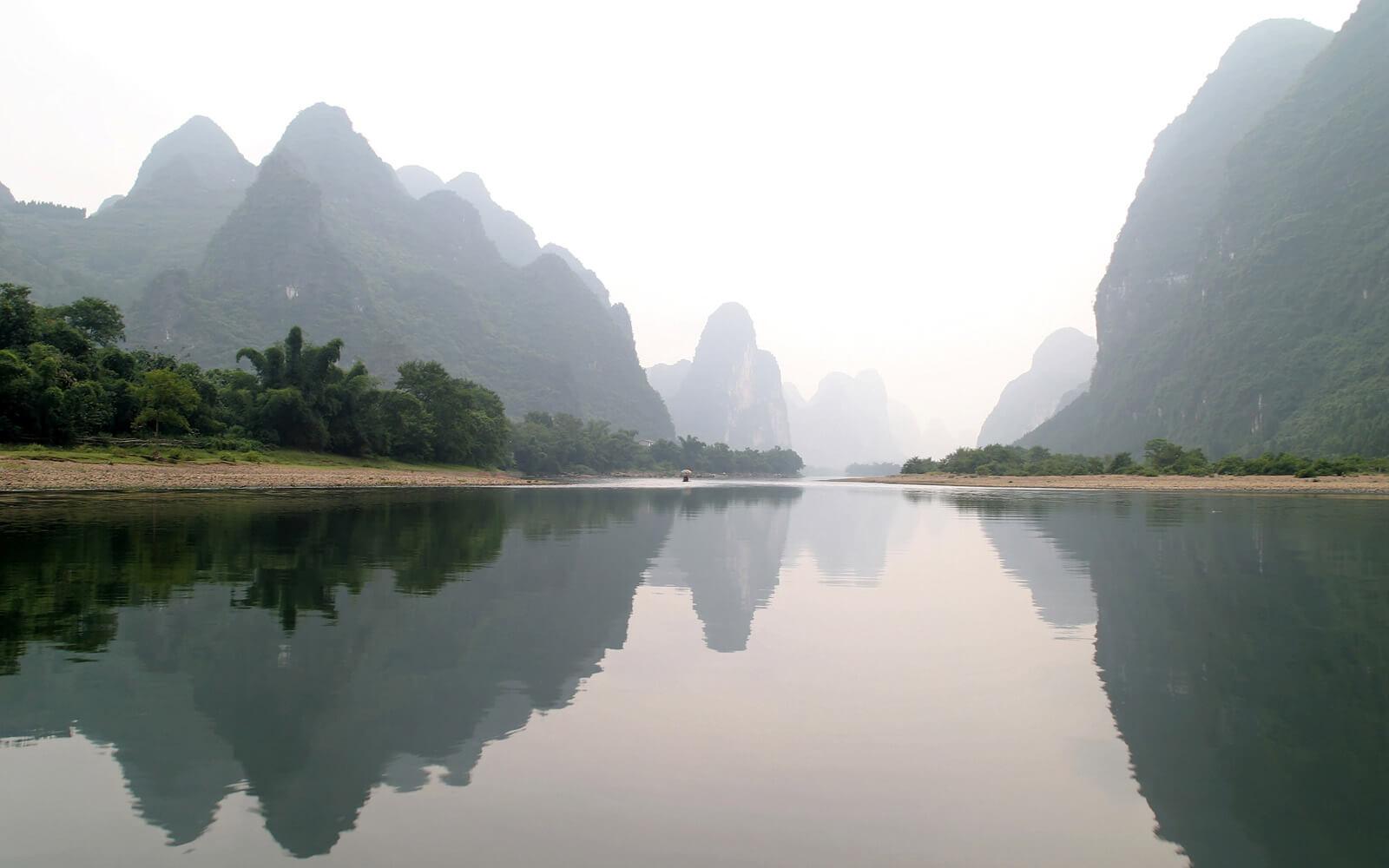 Sehenswürdigkeit in China: Karstlandschaft von Guilin