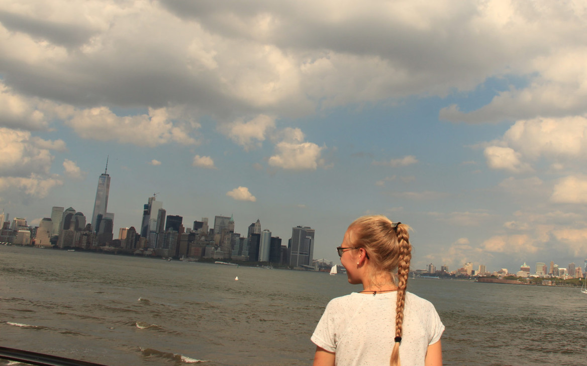 Mara in den USA #2: Orientation in New York