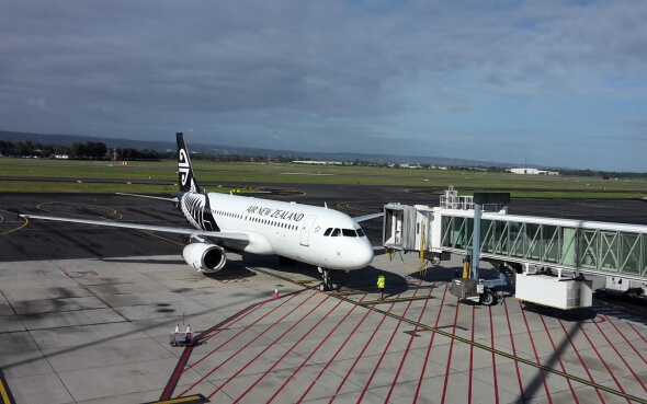 Mit Air New Zealand nach Auckland