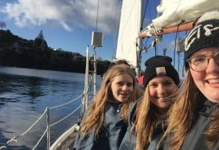 Lena in Neuseeland #4: Segeln und Snowboarden im neuseeländischen Winter
