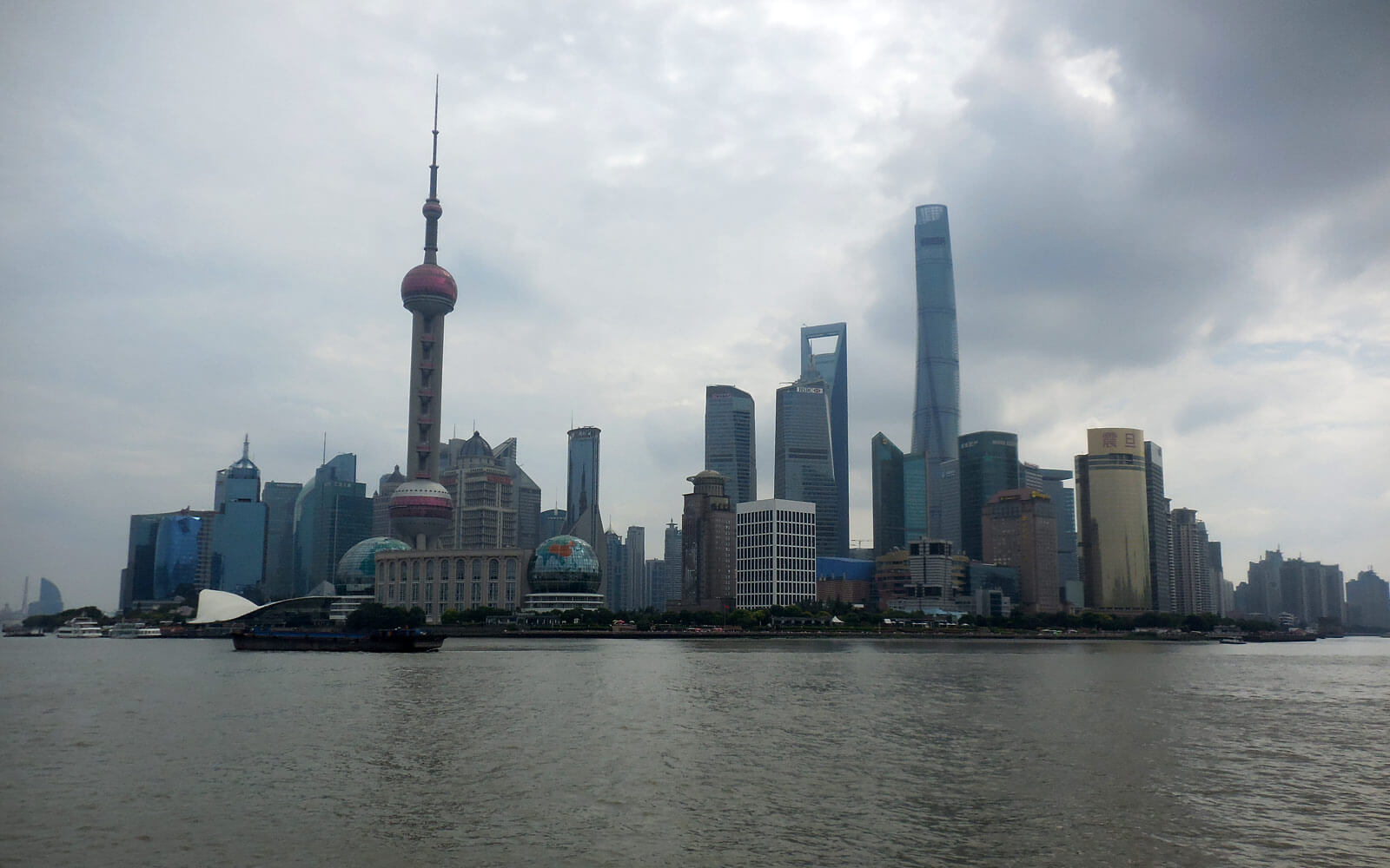 Sehenswürdigkeit in China: Shanghai The Bund