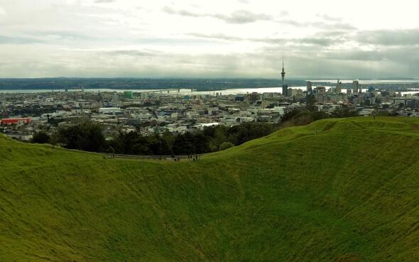 Skyline Auckland Neuseeland