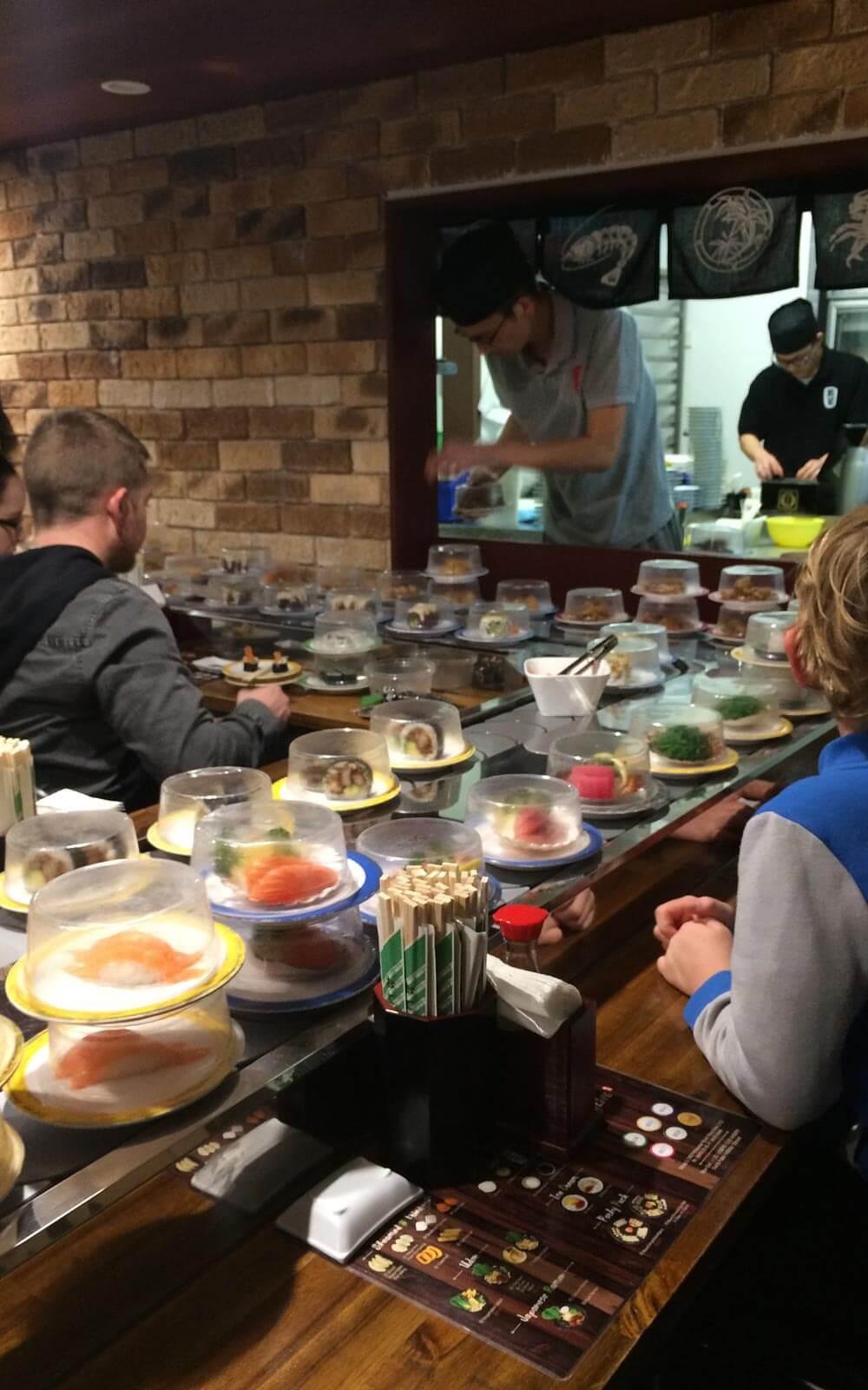 Sushi in Australien
