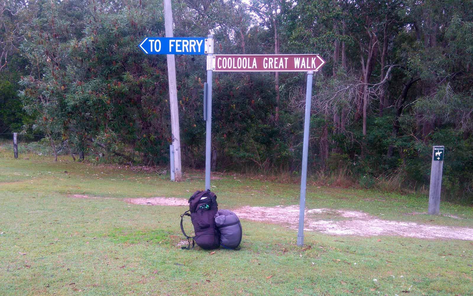 Wanderung in Australien