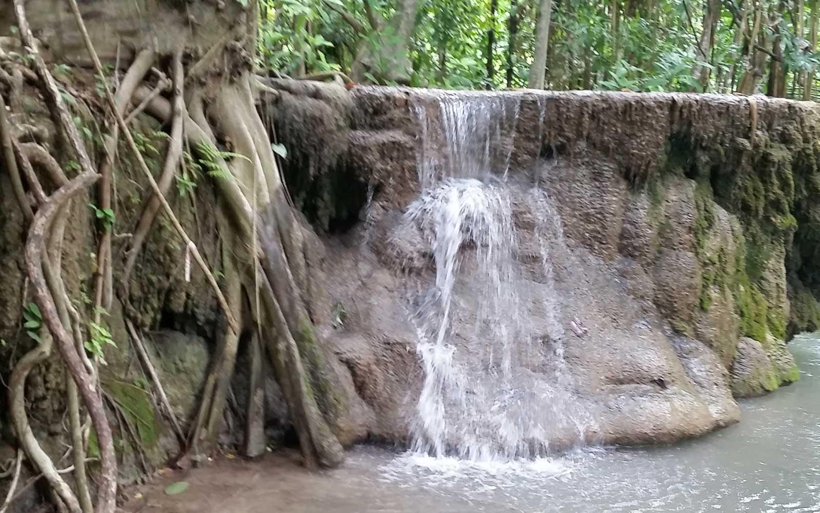 Erawan Nationalpark Thailand Wasserfall Stufe 3