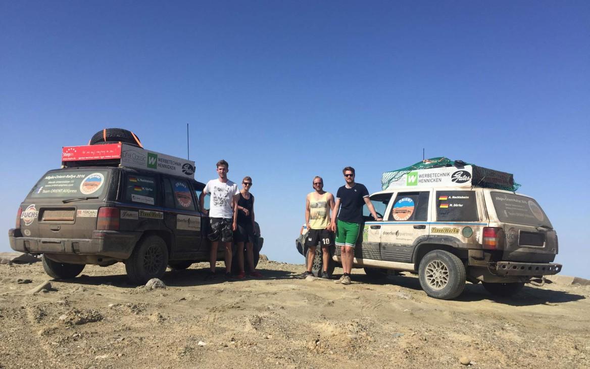 Allgäu-Orient-Rallye 2016: »Orient AIXpress« als Vierte ins Ziel