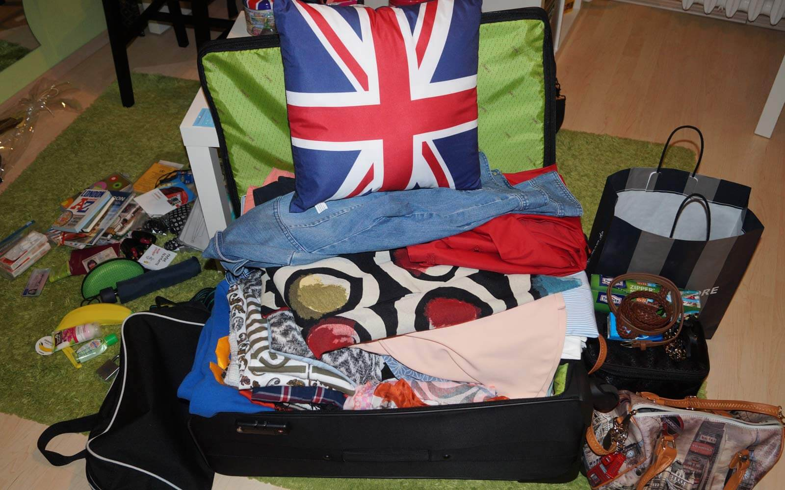 Koffer packen fürs Work and Travel in England