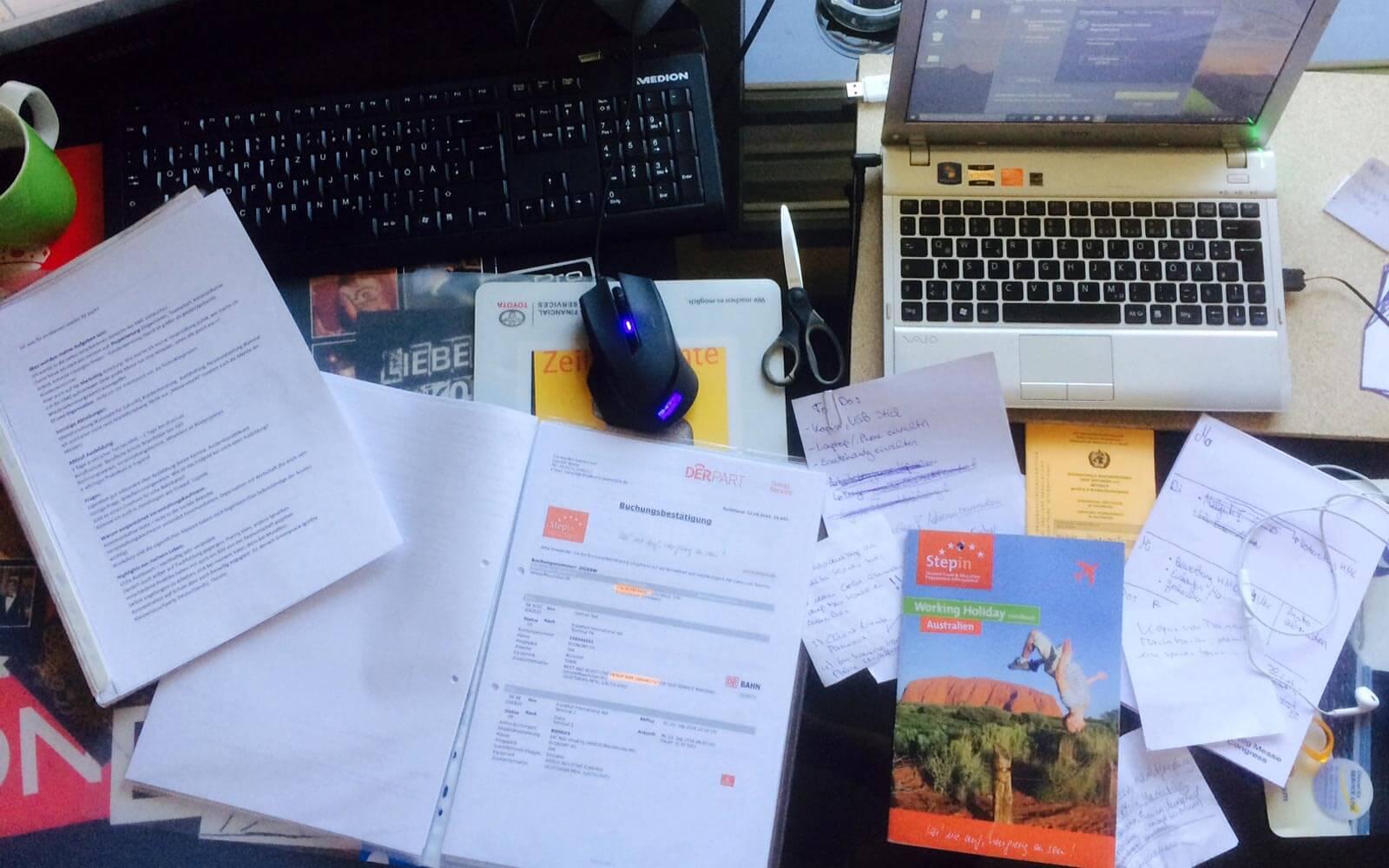 Max in Australien #1: Work and Travel-Vorbereitungen » Weltneugier