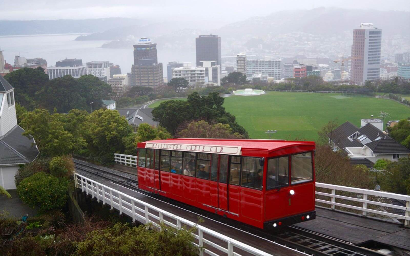 Cable Cars in Wellington, Neuseeland