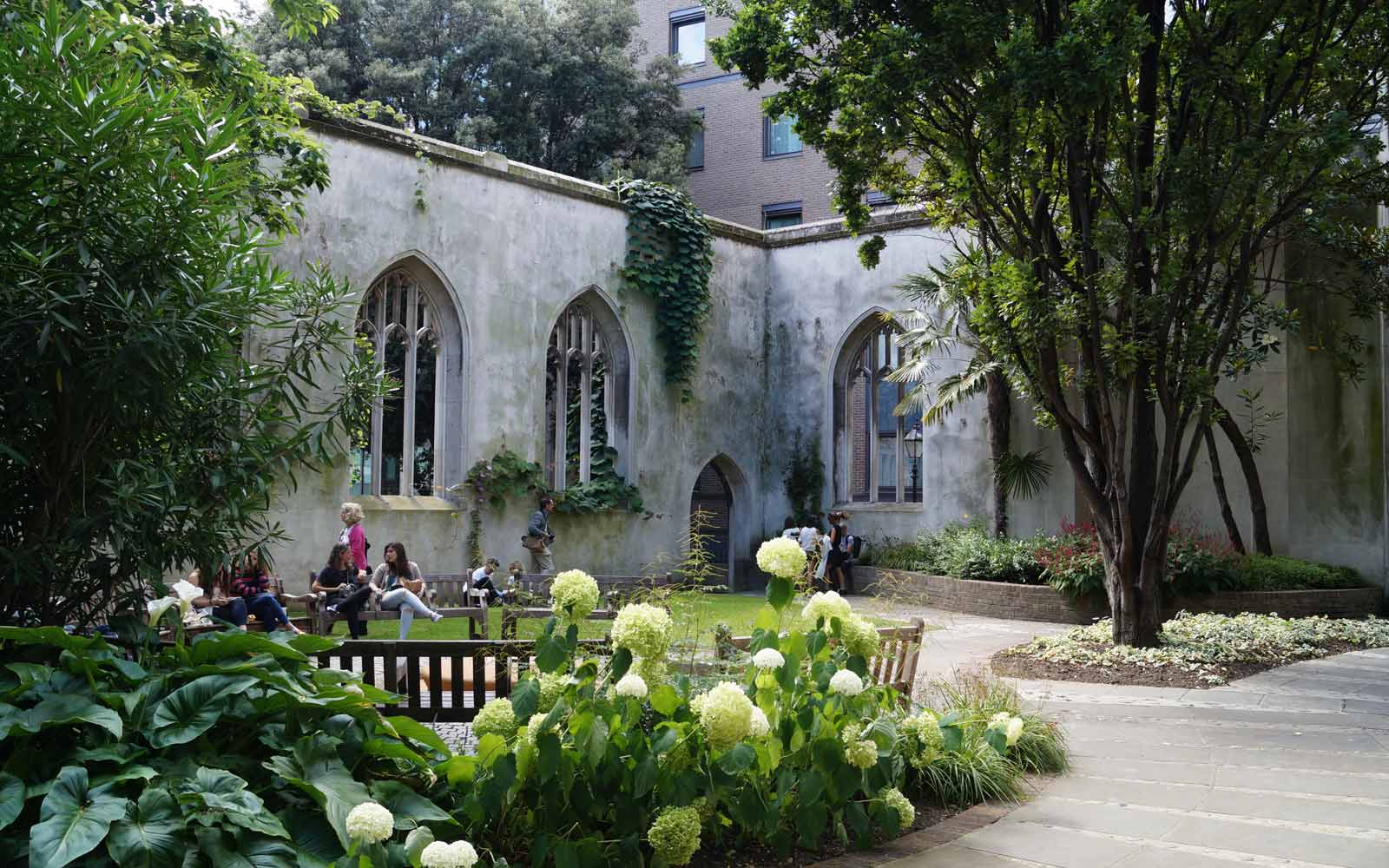 St. Dunstan in the East in London