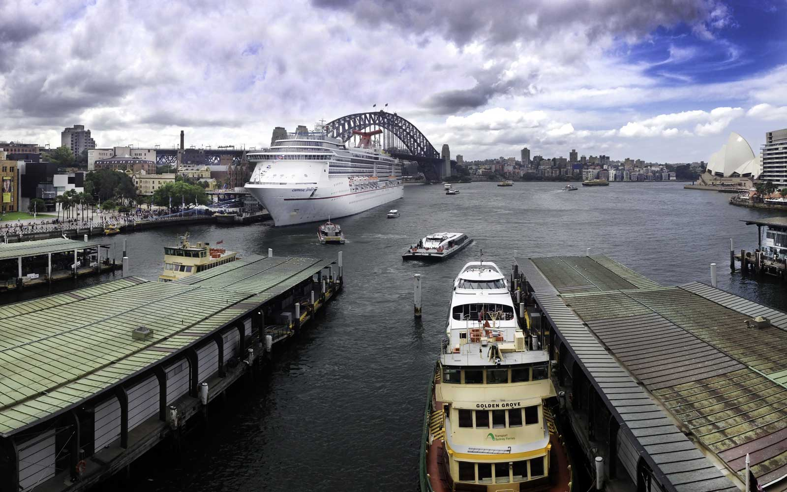 Circular Quay in Sydney, Australien