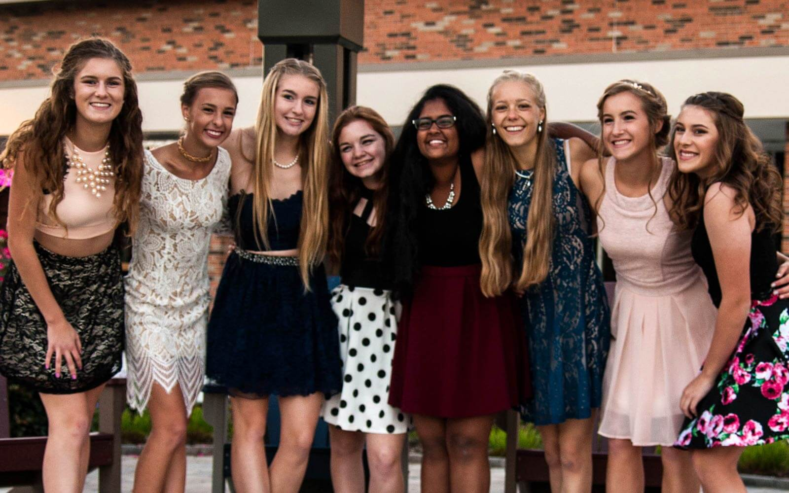 Homecoming Dance in den USA