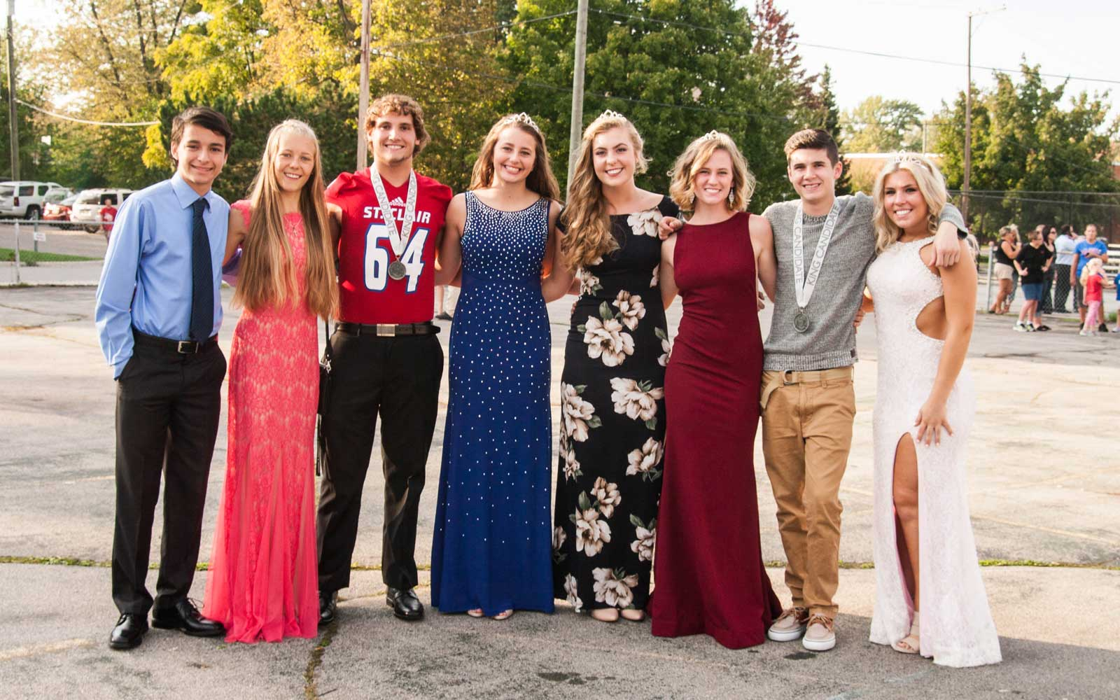 Homecoming Court in Amerika