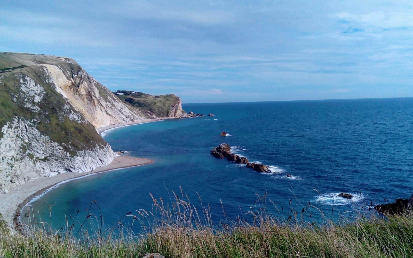 Jurassic Coast in England