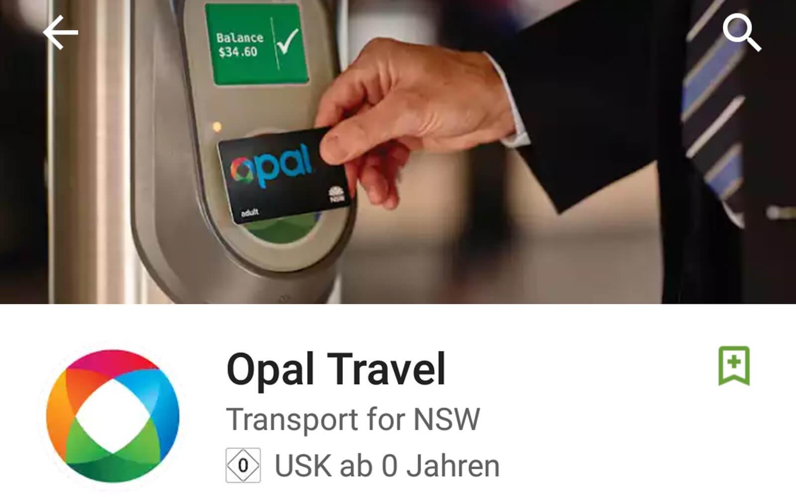 Opal-Travel-App