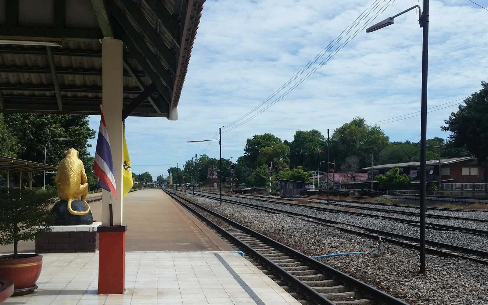 Bahnhof in Thailand