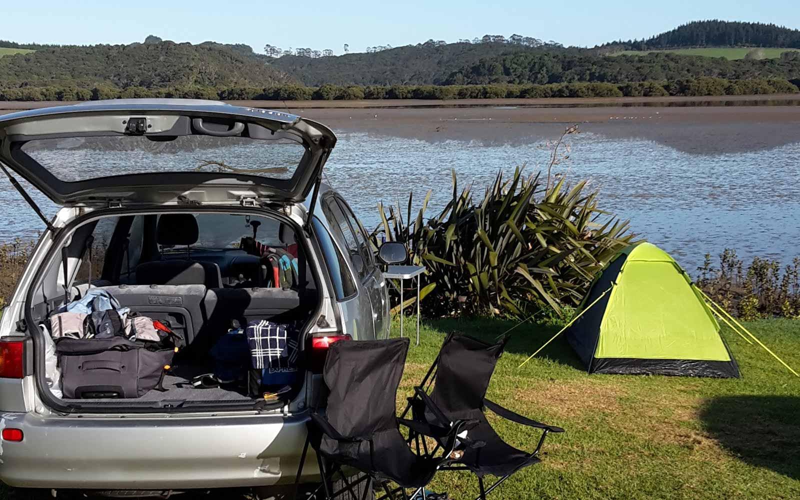Paihia – Camping im Auto oder Zelt