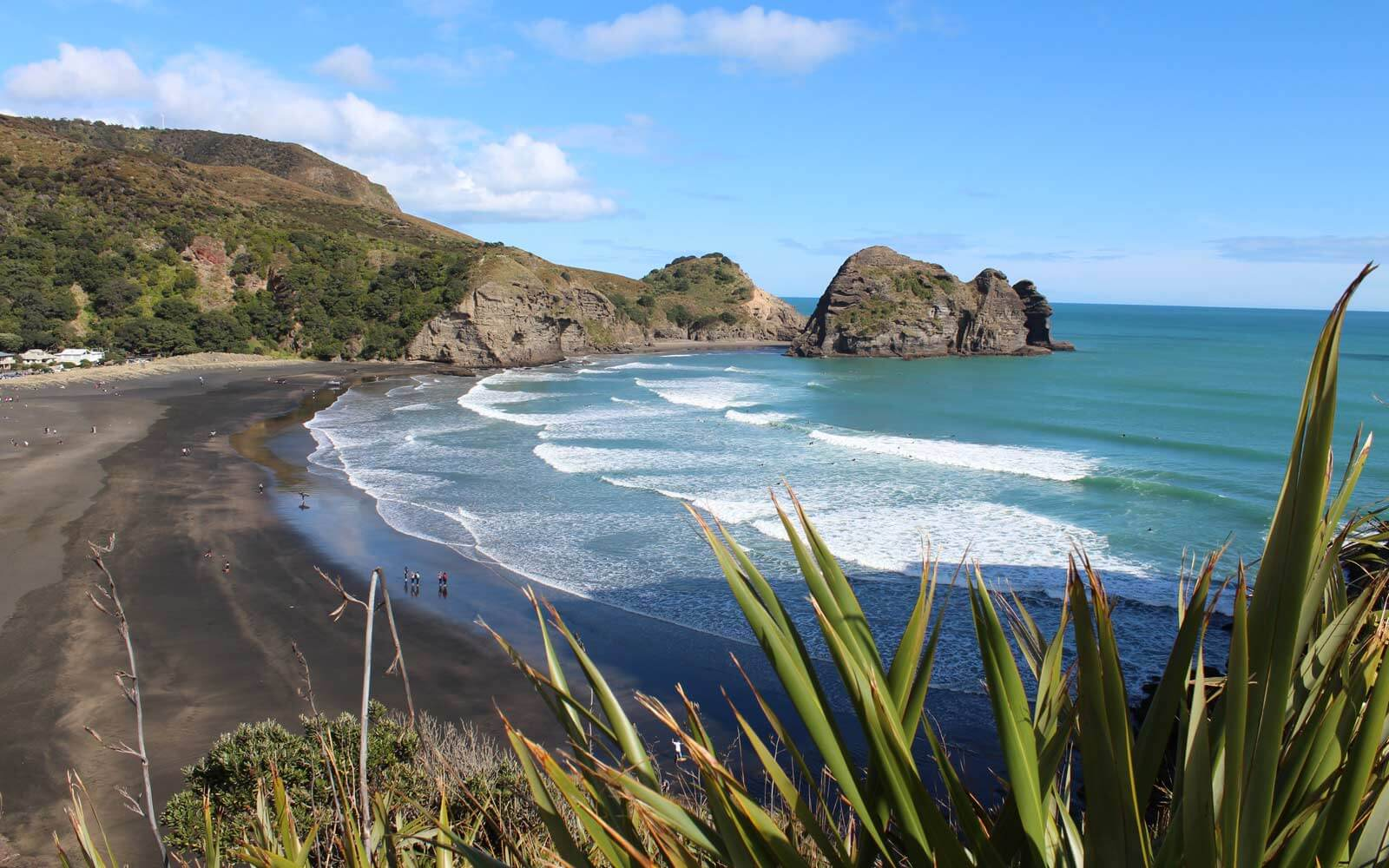 Piha Beach in Neuseeland