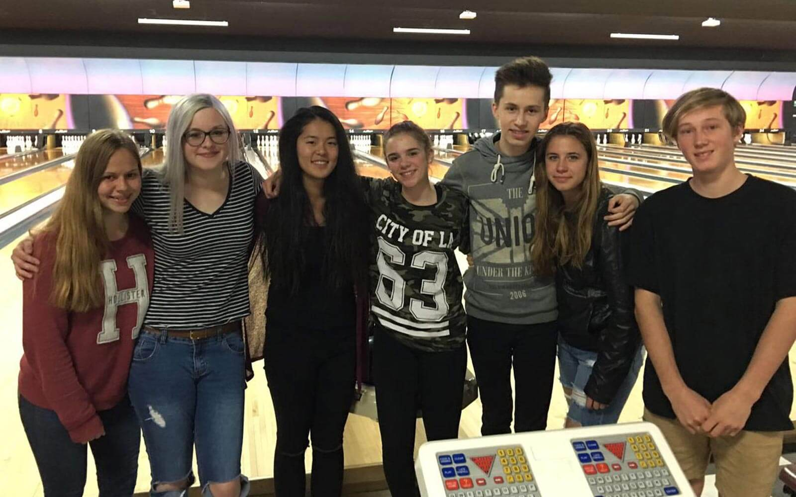 Abschieds-Bowling in Neuseeland