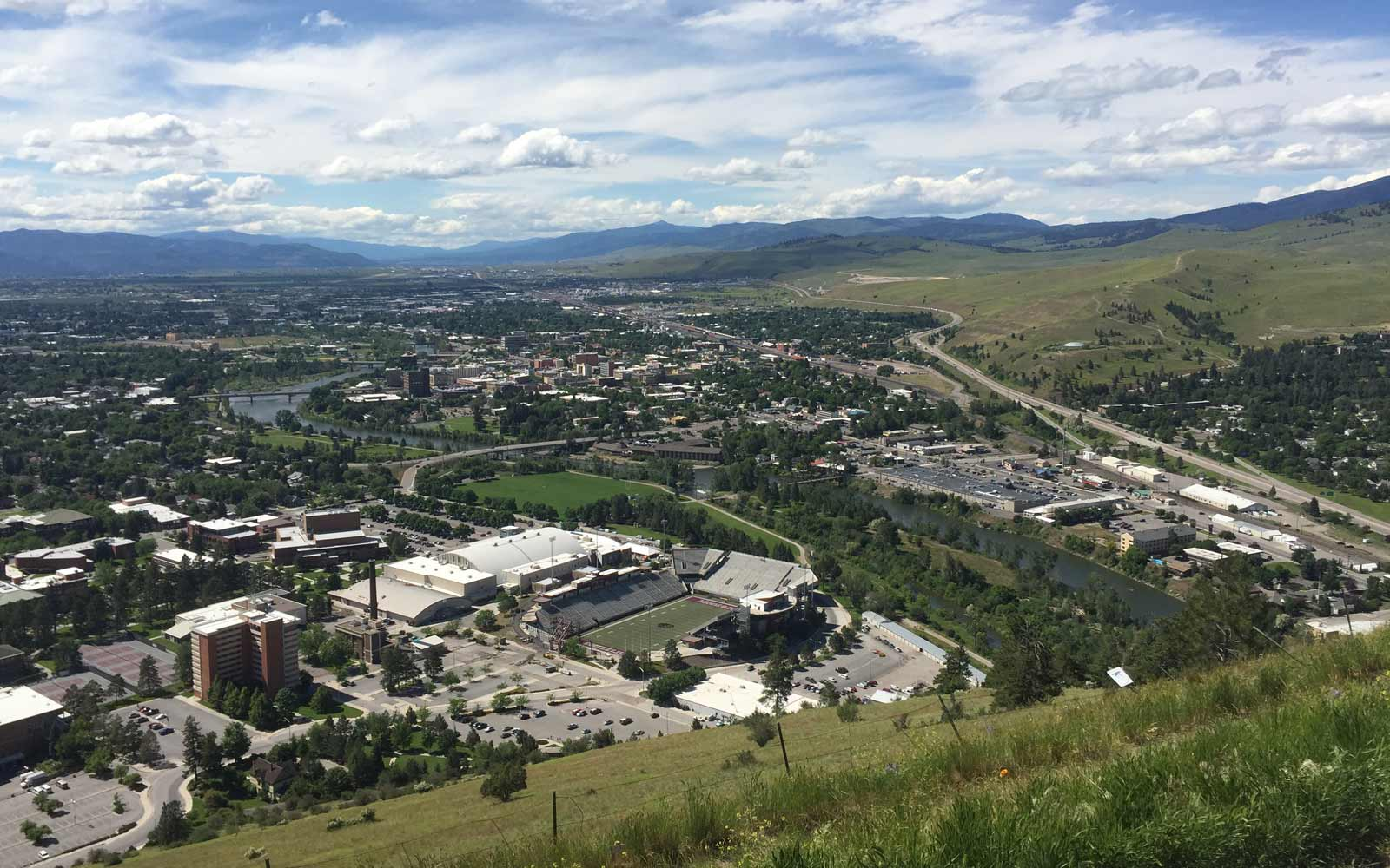 Missoula in Montana, USA