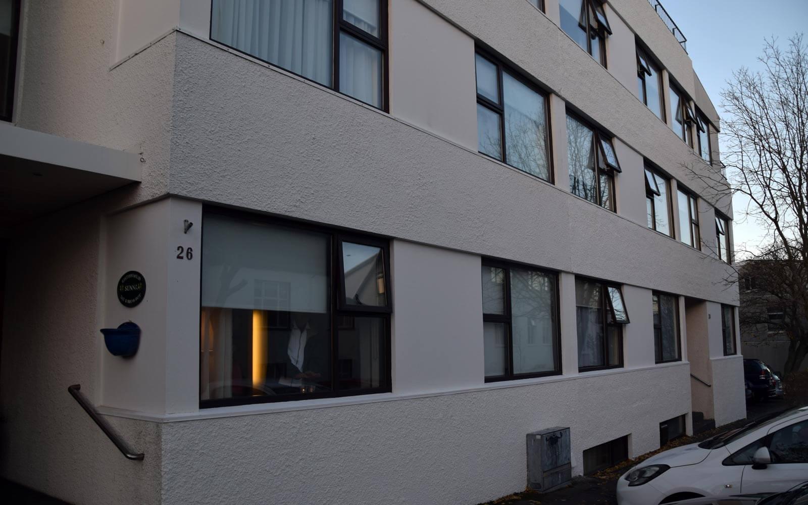 Gästehaus in Reykjavik