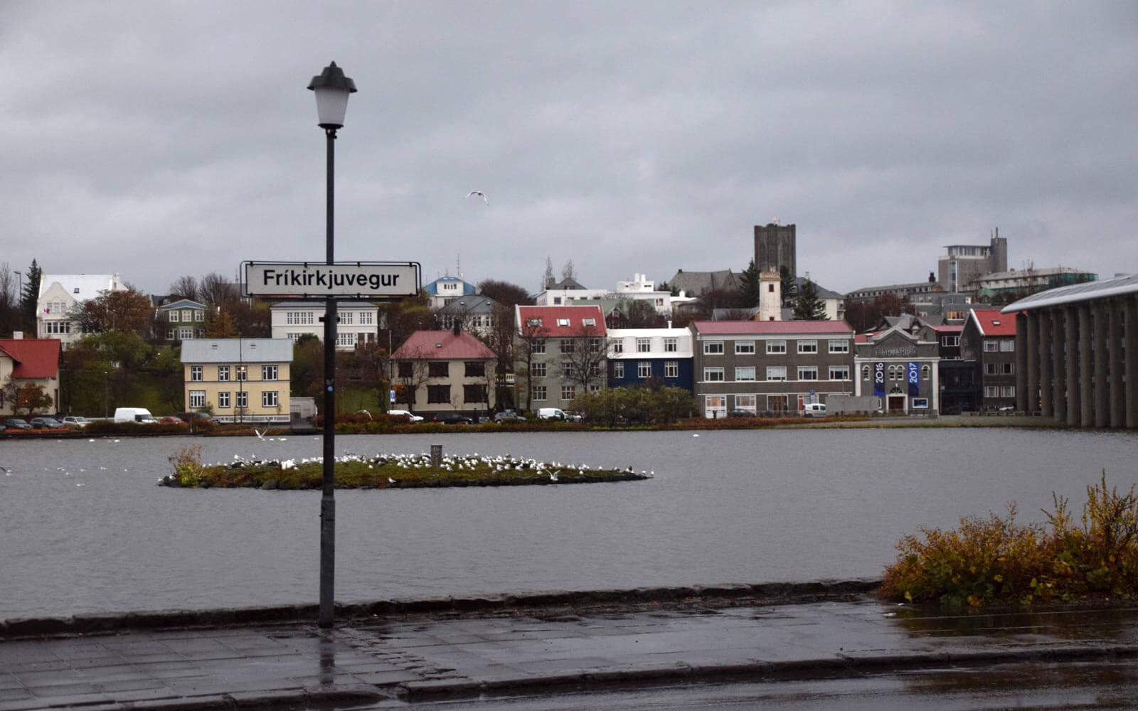 Krikirkjuvegur in Reykjavik