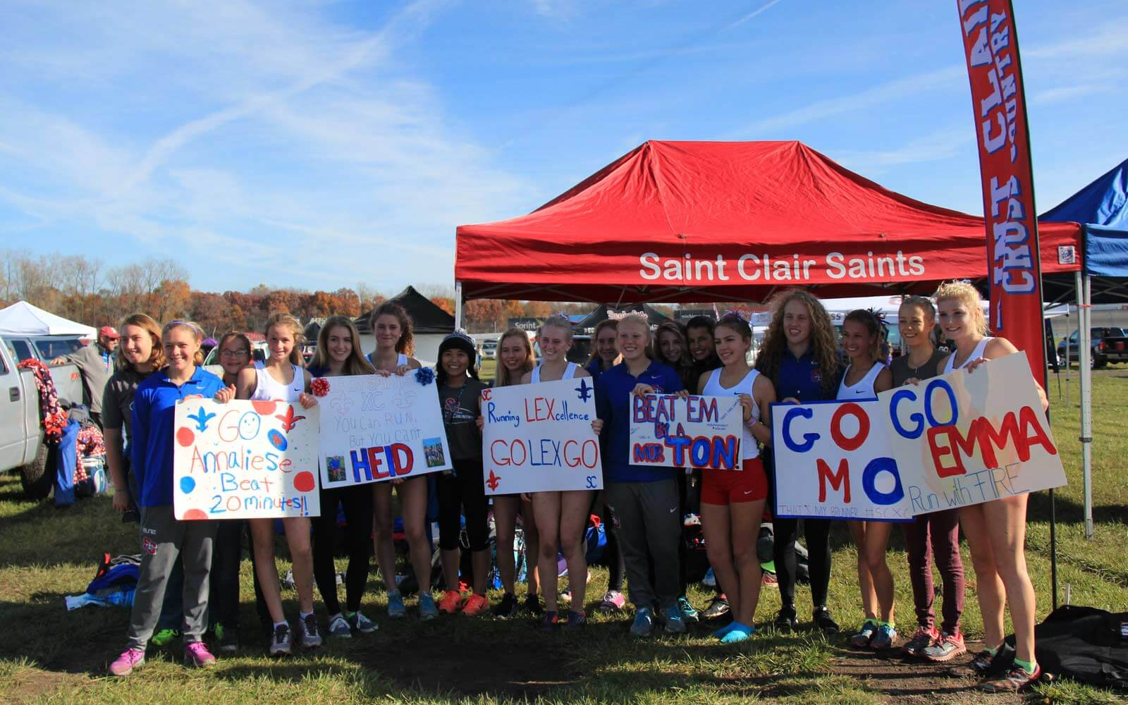 Saint Clair Saints Crosscountry-Team